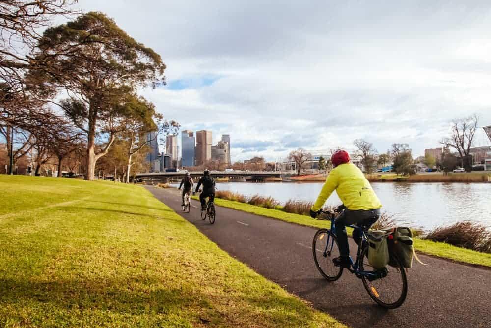Venture Thrill_Urban Hiking in Australia at Yarra Trail Melbourne
