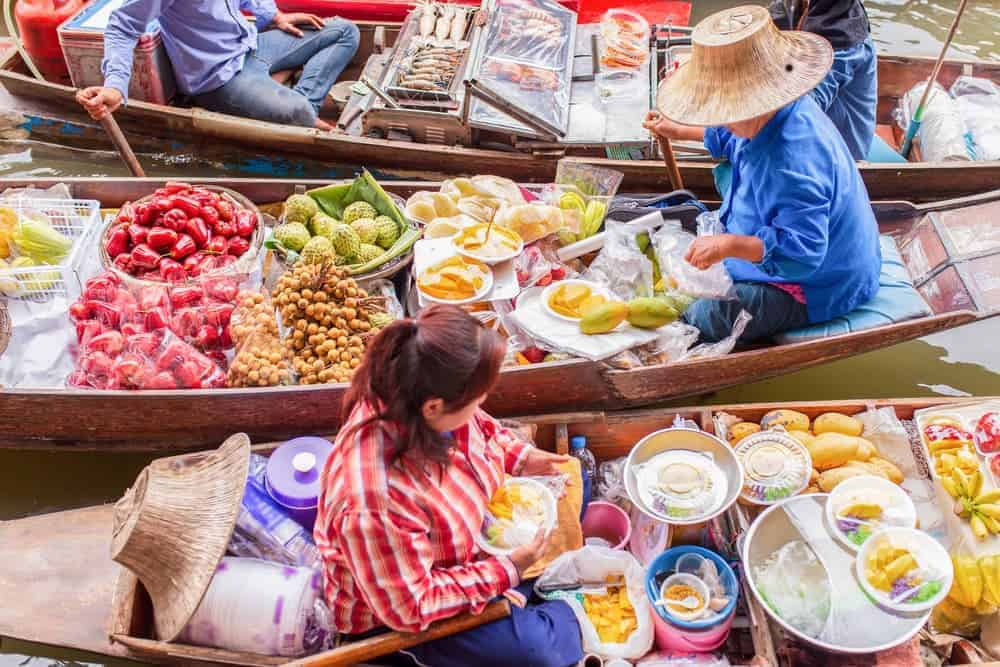 Venture Thrill_Floating Markets in Asia Damnoen Saduak Thailand