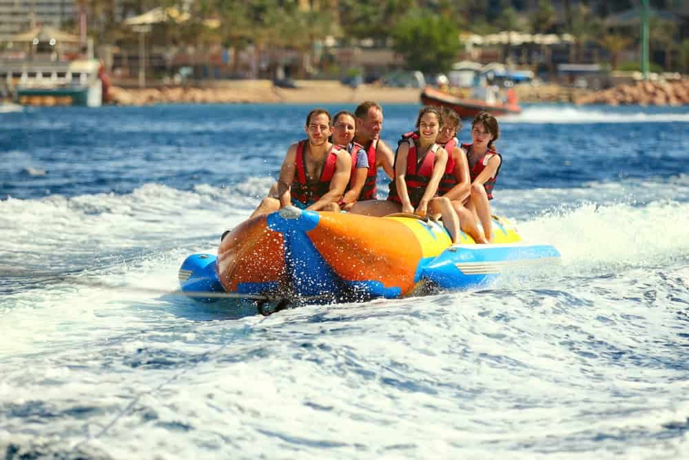 Venture Thrill_Water Sports in Bali Banana Boat