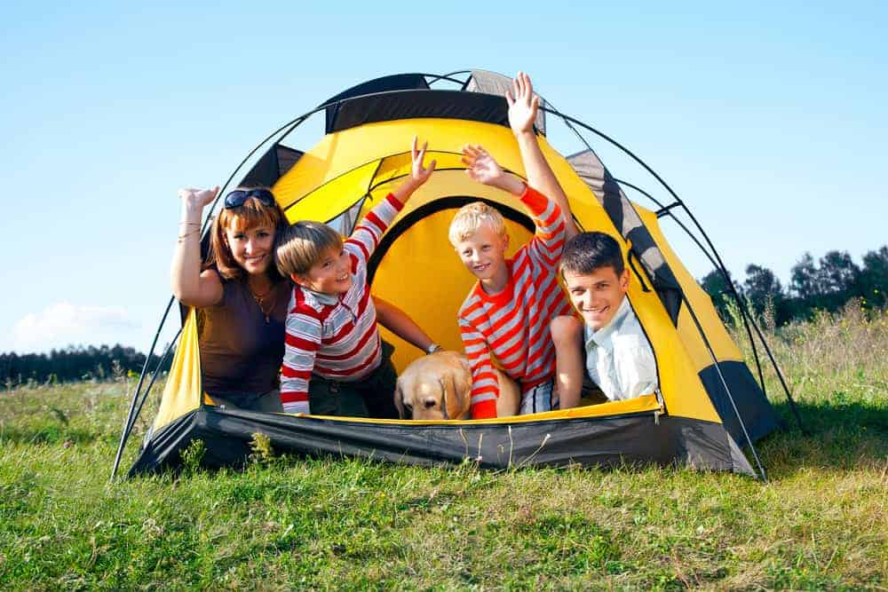 Venture Thrill_Dome Camping Tents for the Family