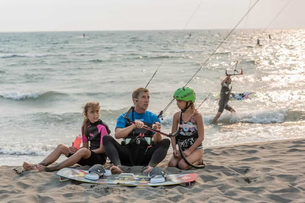 Venture Thrill_Talk to Your Instructor during Your Kitesurfing Lesson