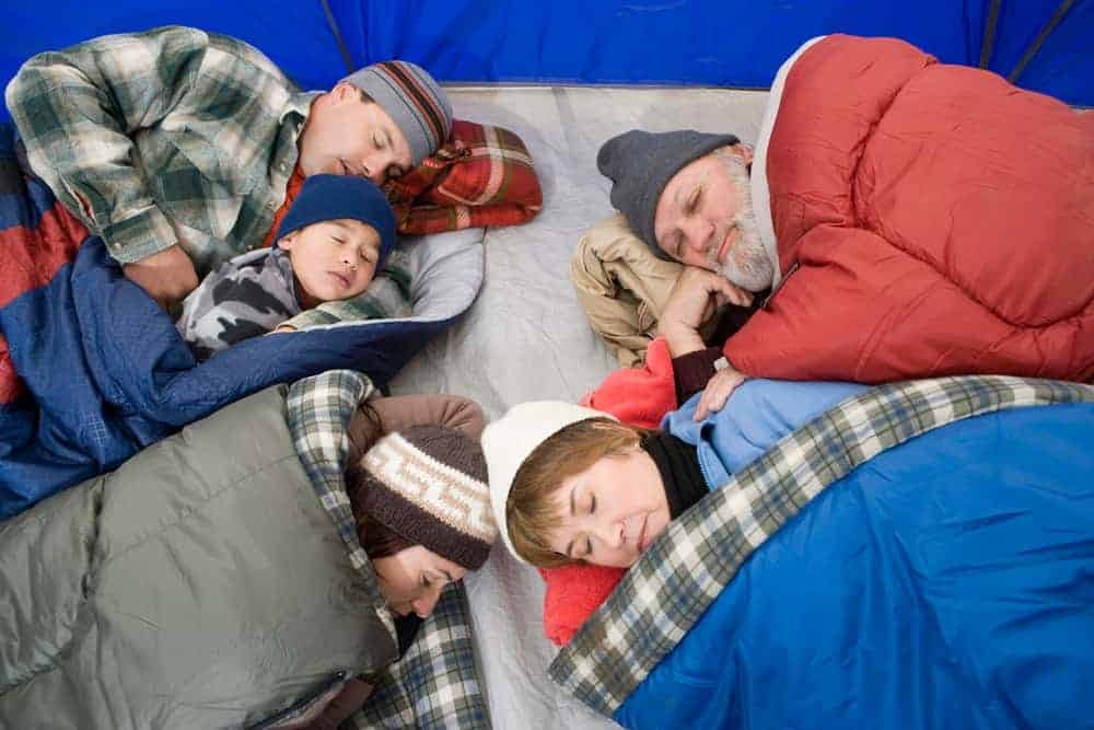 Venture Thrill_Putting on Extra Layers and Other Winter Camping Tips